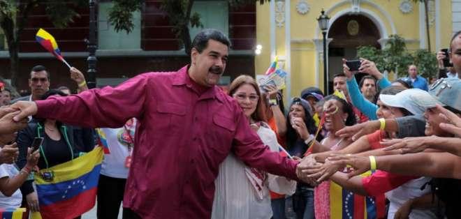 """Maduro pide anunciar la fecha de presidenciales """"a más tardar"""" el lunes. Foto: Archivo-Referencial"""