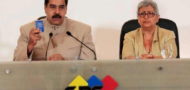 CARACAS, Venezuela.- Nicolás Maduro buscará ser reelegido para el período 2019-2025. Foto: AP.