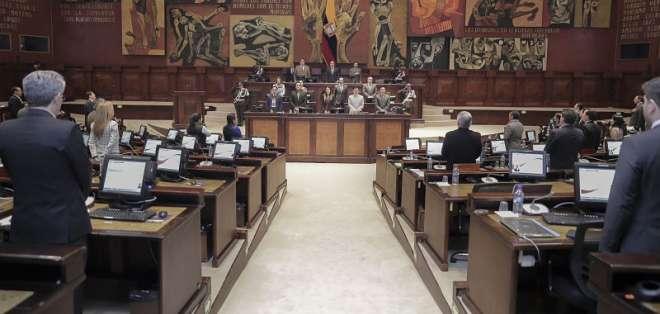 QUITO, Ecuador.-Dentro de la Asamblea Nacional, Revolución Ciudadana es el único bloque que defiende a Ochoa. Foto: Flickr Asamblea,