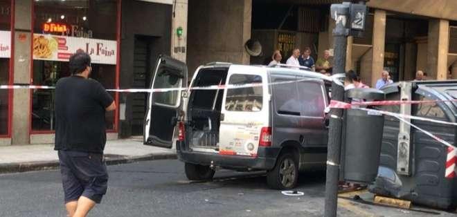 BUENOS AIRES, Argentina.- El enfrentamiento se dio cerca a una zona de juzgados de la ciudad. Foto: El Clarín