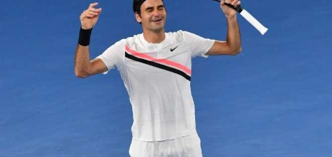 El suizo de 36 años necesita llegar a semifinales del torneo para destronar a Rafael Nadal. Foto: AFP