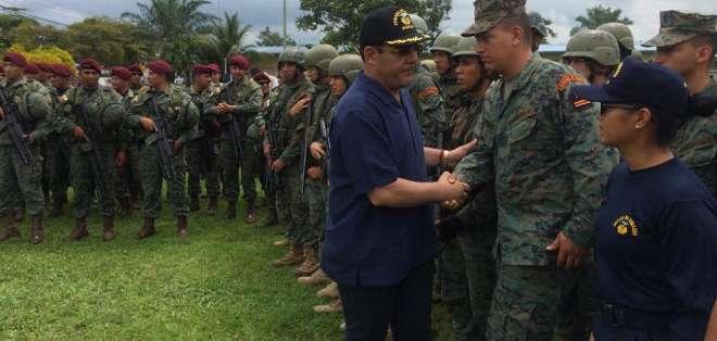 Patricio Zambrano se reunirá con ministro de Defensa y canciller de Colombia. Foto: Archivo / Flickr Ministerio de Defensa