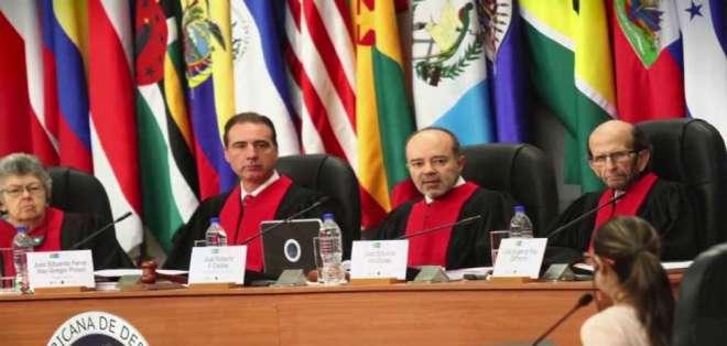 COSTA RICA.- Con cuatro votos a favor y dos en contra, la Corte Interamericana de Derechos Humanos (CorteIDH) desestimó este 8 de febrero de 2018 las medidas provisionales solicitadas por la CIDH. Foto: Archivo