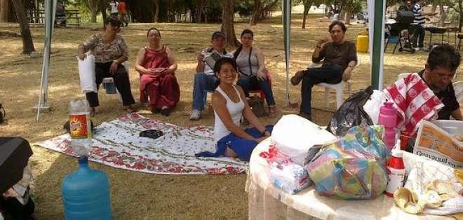 GUAYAQUIL, Ecuador.- El parque Lago ofrece áreas para realizar picnic. Foto: internet