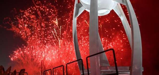 """Juegos Olímpicos de Invierno de Pyeongchang quedan oficialmente """"inaugurados"""". Foto: AFP"""