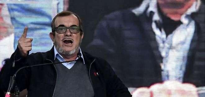"""Rodrigo Londoño, conocido como """"Timochenko"""", es el candidato presidencial de las FARC."""
