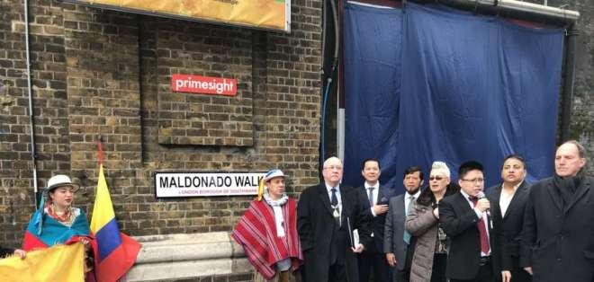 LONDRES, Reino Unido.- Maldonado Walk está ubicada a unas cuadras del parlamento británico y del icónico Big Ben. Foto: London SE1 Community.