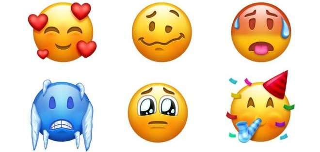 La nueva lista es de más de 150 nuevos emoticones. (Gráfico: Emojipedia)