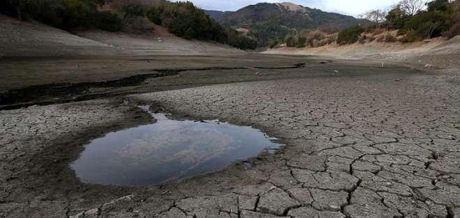 El cambio climático, el fenómeno que remató las reservas mundiales de agua. Foto: Referencial