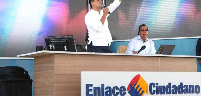 9 personas constan en informe de indicios de responsabilidad penal enviado a Fiscalía. Foto: Archivo Flickr Presidencia Ecuador
