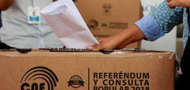 Desde este miércoles queda vigentes los resultados de la consulta popular. Foto: Archivo