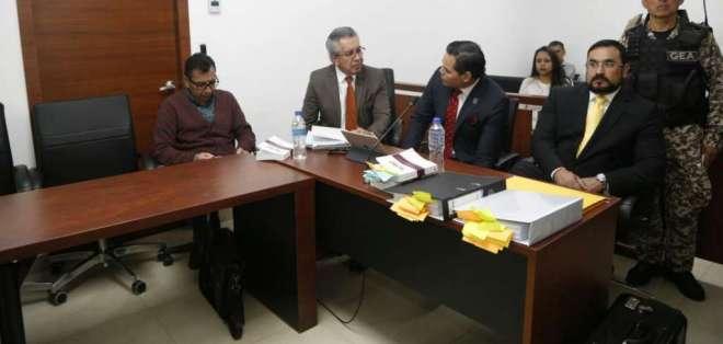 Revocan prisión para Carlos Pareja Yannuzzelli, Diego Tapia y Álex Bravo en caso Petroecuador. Foto: API