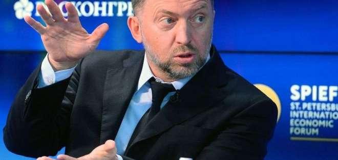 Oleg Deripaska advirtió a los medios de comunicación que guarden silencio sobre las acusaciones en su contra.