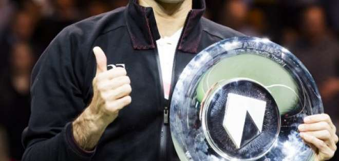 El suizo venció en la final a Grigor Dimitrov por un doble 6-2. Foto: AFP
