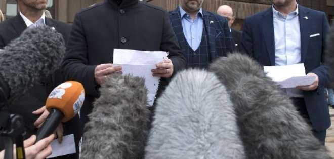 Steve Walters, Gary Cliffe, Chris Unsworth y Micky Fallon, fueron algunas de las vícitimas de Bennell. Foto: AFP
