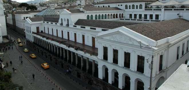El régimen del exmandatario Rafael Correa denunció los tratados con 12 países. Foto: Archivo Andes