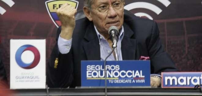 El presidente de la FEF es citado a declarar en la Fiscalía del Guayas.
