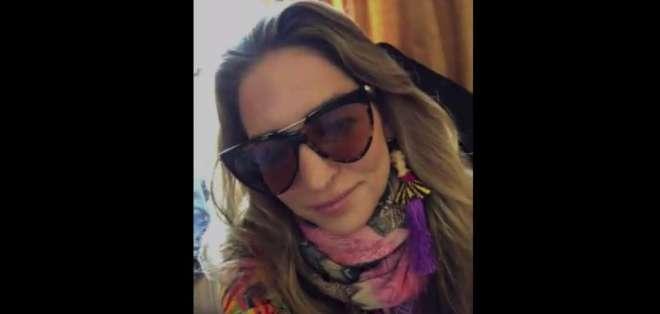 VIÑA DEL MAR, Chile.- Mirella siente una gran responsabilidad por participar en este certamen. Foto: captura de video