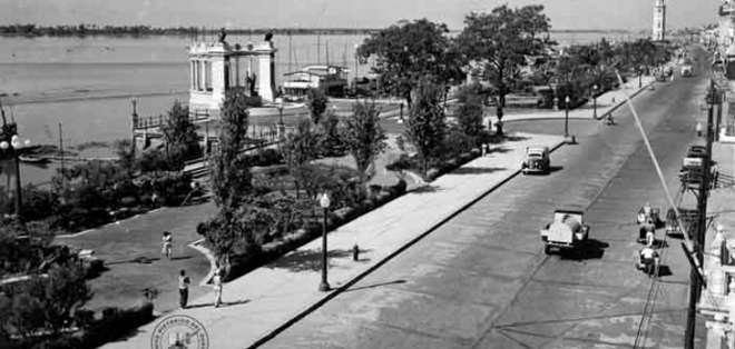 Los guayaquileños y los lugares de antaño que tienen historia. Foto: Internet