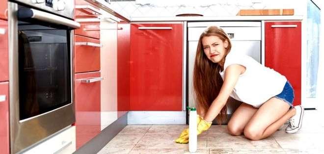 Aunque parezcan relucientes, casi todas las cocinas están llenas de gérmenes. Foto: GETTY IMAGES