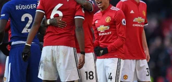 Los 'diablos rojos' dieron vuelta al marcador en Old Trafford. Foto: AFP