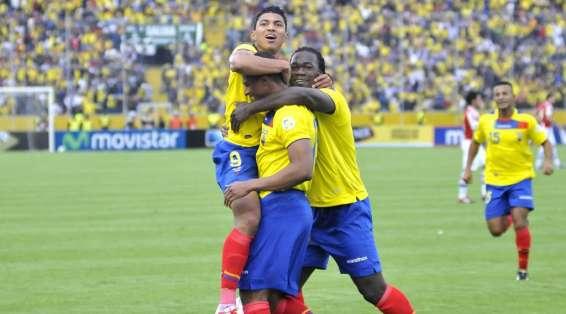 Los jugadores ecuatorianos formaban parte del Levante en esa temporada. Foto: Archivo