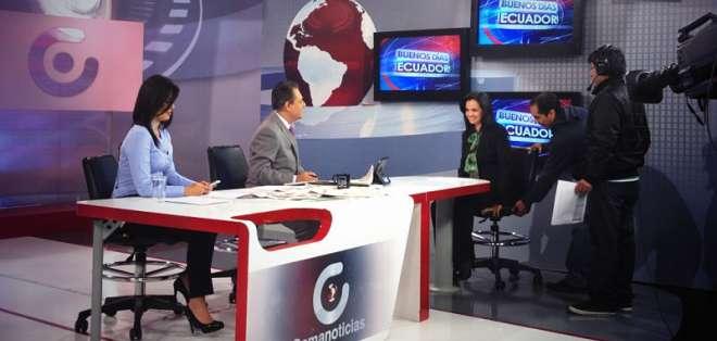QUITO, Ecuador.- Set de Gamavisión en año 2013. Foto: Flickr Marcela Aguiñaga.