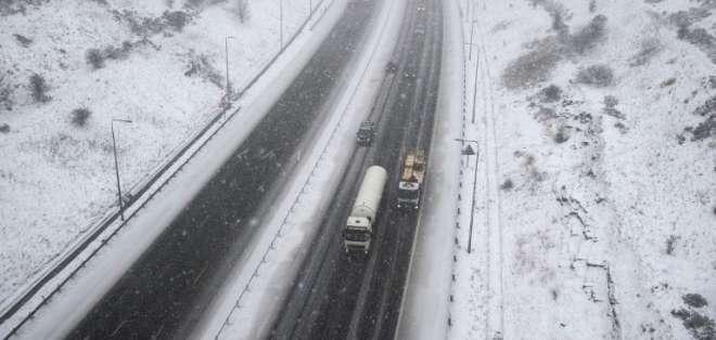 Temperaturas glaciales han afectado sobre todo a los 'sintecho'. Foto: AFP