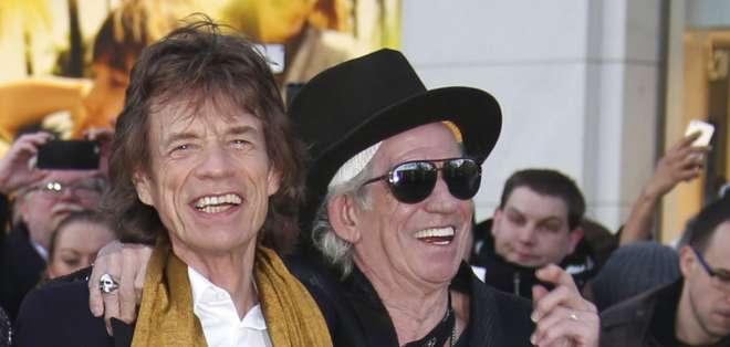 NUEVA YORK, EE.UU.- Jagger de 74 años tuvo a su octavo hijo en diciembre de 2016. Foto: AP.
