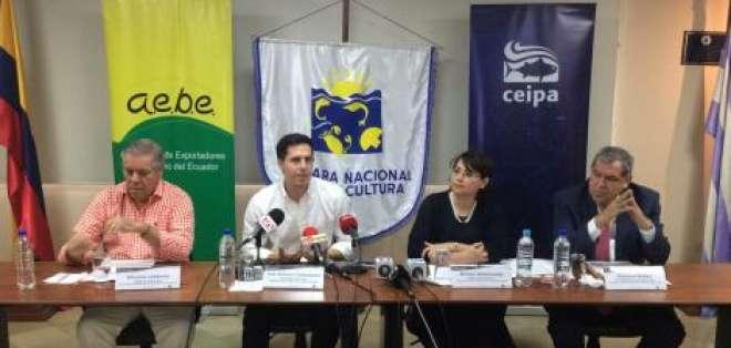 Los empresarios manifestaron, en una rueda rueda de prensa, en Guayaquil, que el trámite está en manos del Gobierno. Foto: Redes