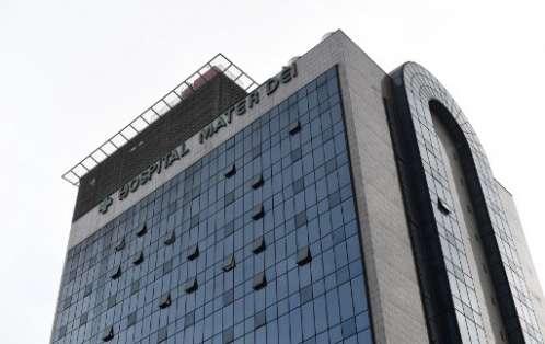 El brasileño fue intervenido en el hospital Mater dei de Belo Horizonte.