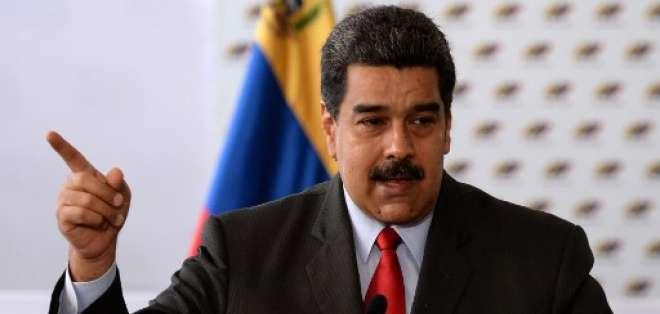 Nicolás Maduro aspira a reelegirse hasta 2025 en unos comicios cuestionados por la comunidad internacional. Foto: AFP
