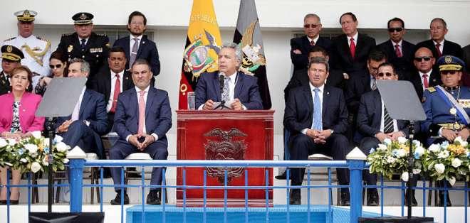 """El primer mandatario se refirió a audio divulgado por fiscal Baca y anunció """"cambios"""". Foto: Flickr Presidencia."""