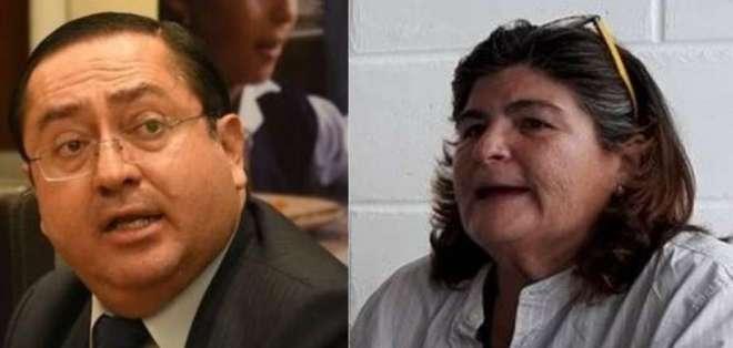 ECUADOR.- María Elsa Viteri ya se desempeñó en esta función, durante la administración de Rafael Correa. Collage: Ecuavisa
