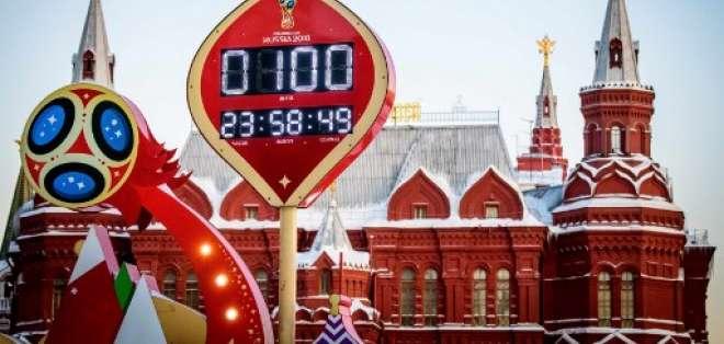 El Mundial Rusia 2018 iniciará el próximo 14 de junio en Moscú. Foto: AFP