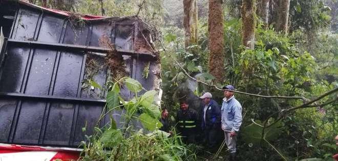 Las unidades de socorro no han difundido información sobre víctimas mortales. Foto: Twitter