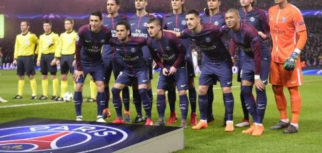 El equipo francés fue eliminado en los octavos de final de la Champions Legue. Foto: AFP