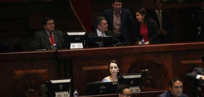 Por unanimidad, la Asamblea aprobó que Serrano y Baca acudan al Pleno para rendir cuentas. Foto: API