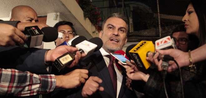Serrano ha manifestado que no renunciará a su cargo.