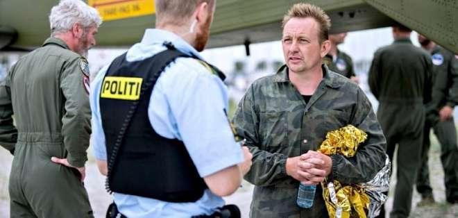 """Al constatar la muerte de la joven, """"decidí suicidarme"""", reveló Peter Madsen en juicio. Foto: AFP."""