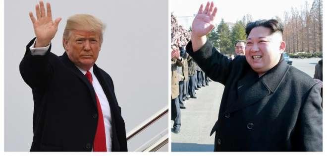 """Presidente de EE.UU. dijo que """"se reuniría con Kim Jong Un de aquí a mayo"""". Foto: AFP"""