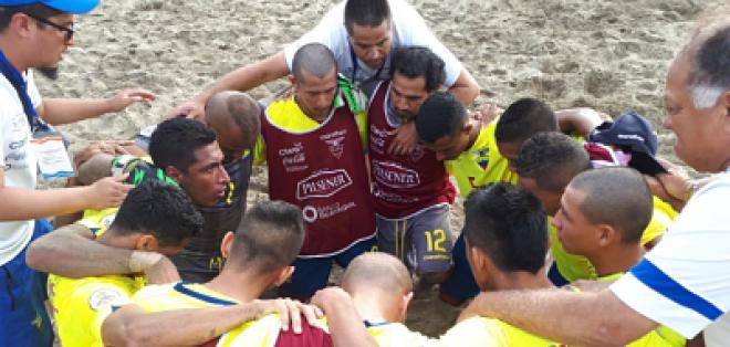 La 'Tricolor' enfrentará a Brasil en esa instancia del torneo que se juega en Perú. Foto: Tomada de @FEFecuador