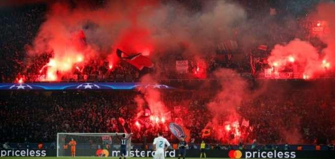 El PSG podría ser sancionado con un encuentro a puertas cerradas en competiciones europeas.
