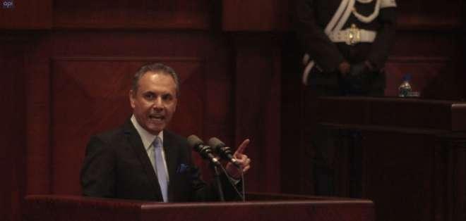 Pleno buscaría la censura de Ochoa ya que Cpccs Transitorio lo destituyó del cargo. Foto: API