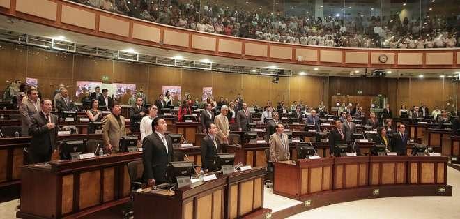 La Asamblea Nacional recibió el pasado miércoles el veto parcial a esa legislación. Foto: Archivo