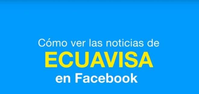 Descubra en 4 pasos sencillos como ver las publicaciones de Ecuavisa en Facebook. Foto: Captura Video.