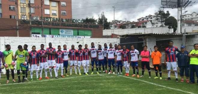 Deportivo Quito jugará este año en la segunda categoría del fútbol ecuatoriano.