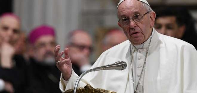CIUDAD DEL VATICANO.- El papa Francisco en el pontífice número 266 de la Iglesia Católica. Foto: AFP
