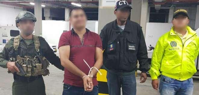 Cachi cayó en un operativo realizado en la ciudad de Pereira, en Colombia. Foto: Policía de Colombia