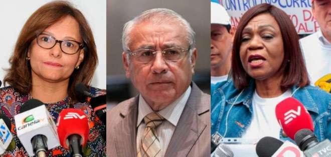 Los bloques legislativos han postulado tres opciones para la presidencia de la Asamblea. Foto: Ecuavisa